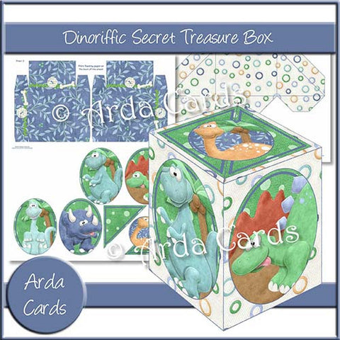 Dinoriffic Secret Treasure Box