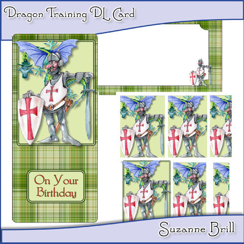 Dragon Training DL Card - The Printable Craft Shop