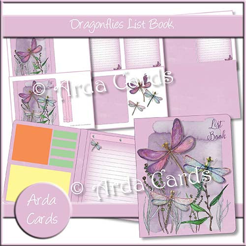 Dragonflies List Book