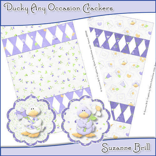 Ducky Any Occasion Crackers - The Printable Craft Shop