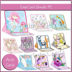 Easel Card Bundle #1