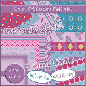 Eastern Delights Card Making Kit - The Printable Craft Shop