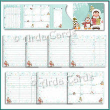 Load image into Gallery viewer, Eskimo Escapades Printable Christmas Planner