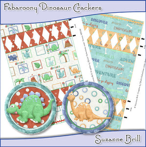 Fabaroony Dinosaur Crackers - The Printable Craft Shop