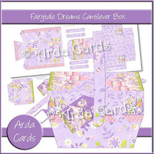Load image into Gallery viewer, Fairytale Dreams Cantilever Box - The Printable Craft Shop