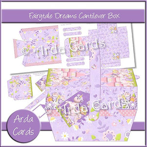 Fairytale Dreams Cantilever Box - The Printable Craft Shop