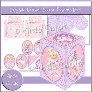 Secret Treasure Box Children's Bundle - The Printable Craft Shop