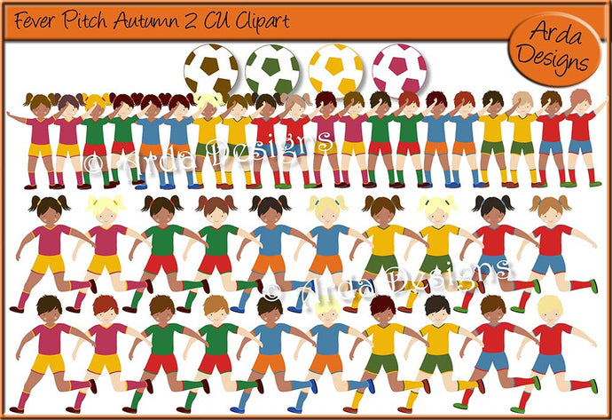 Fever Pitch Autumn 2 CU Clipart