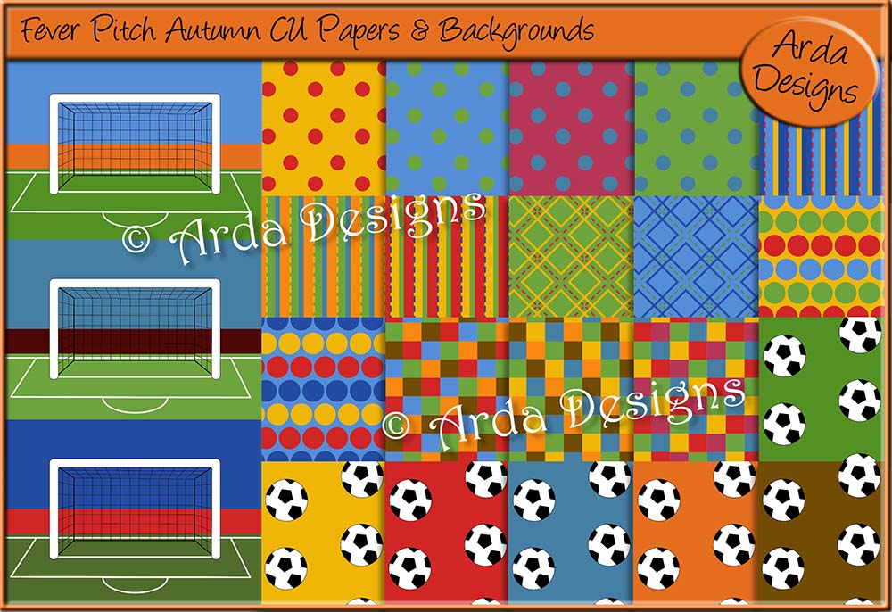 Fever Pitch Autumn CU Papers & Backgrounds