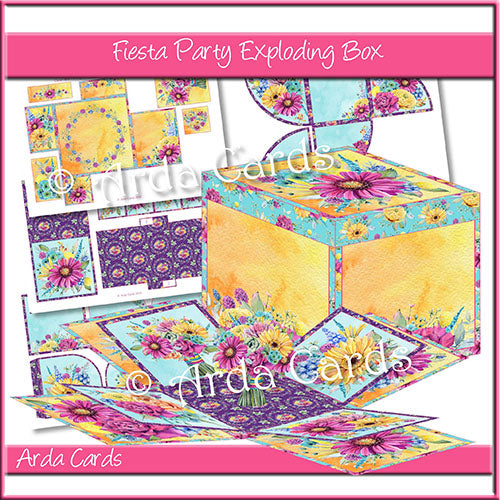 Fiesta Party Exploding Box