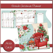 Load image into Gallery viewer, Fireside Printable Christmas Planner