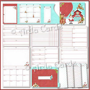 Flight School Printable Christmas Planner