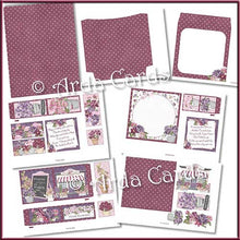 Load image into Gallery viewer, Flower Shop 4 Fold Flap Card - The Printable Craft Shop