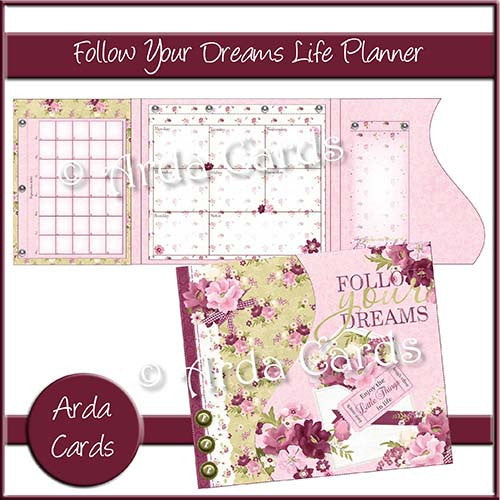 Follow Your Dreams Life Planner - The Printable Craft Shop