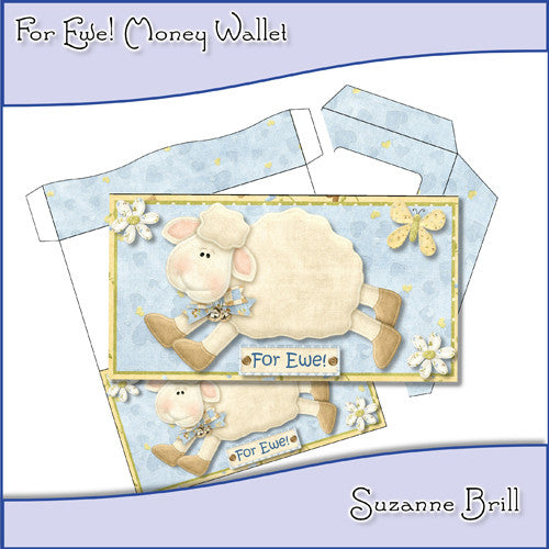 For Ewe! Money Wallet - The Printable Craft Shop