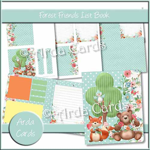 Forest Friends List Book