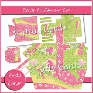 Forever Not Cantilever Box - The Printable Craft Shop