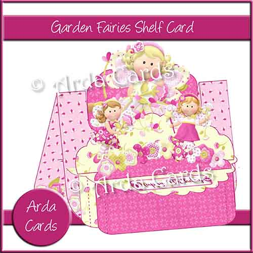 Garden Fairies Shelf Card