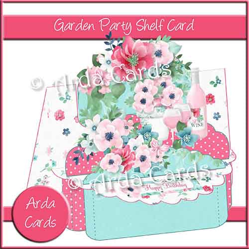 Garden Party Shelf Card