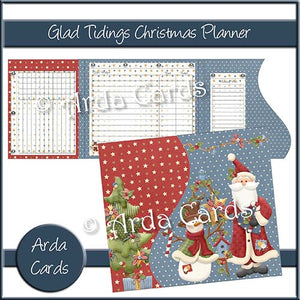 Glad Tidings Printable Christmas Planner