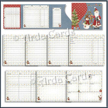Load image into Gallery viewer, Glad Tidings Printable Christmas Planner