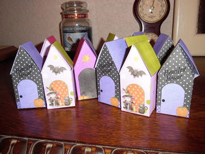 Pumpkin Patch Haunted House Gift Boxes