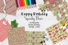 Load image into Gallery viewer, Happy Birthday Plushy Polar Bear CU Paper