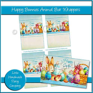 Happy Bunnies Animal Bar Wrappers