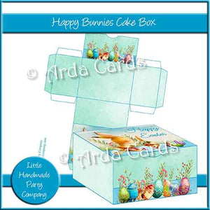 Happy Bunnies Cake Box