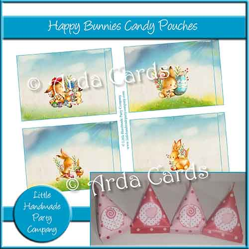 Happy Bunnies Candy Pouches