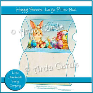 Happy Bunnies Large Pillow Box