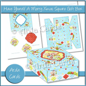 Have YourElf A Merry Christmas Square Gift Box
