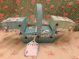 Up, Up & Away Cantilever Box - The Printable Craft Shop