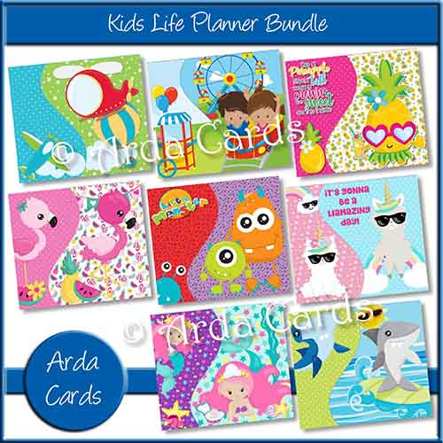 Kids Life Planner Bundle