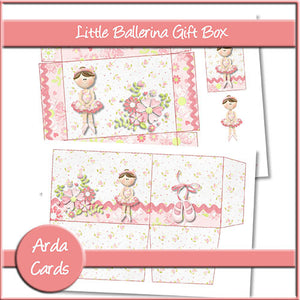 Little Ballerina Gift Box - The Printable Craft Shop