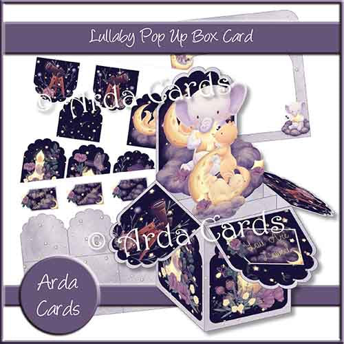 Lullaby Pop Up Box Card