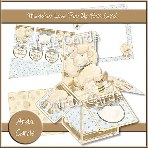 Meadow Love Pop Up Box Card