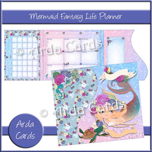 Mermaid Fantasy Life Planner