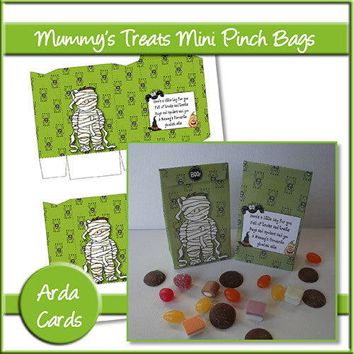 Mummy's Treats Mini Pinch Bags - The Printable Craft Shop