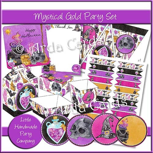 Mystical Gold Party Set
