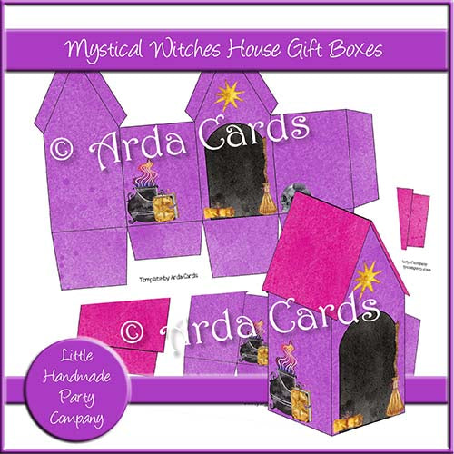 Mystical Witches Hut Gift Boxes