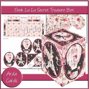 Ooohlala Secret Treasure Box - The Printable Craft Shop