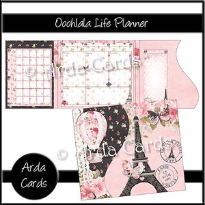 Ooohlala Printable Life Planner - The Printable Craft Shop