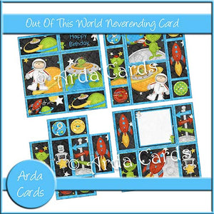 Out Of This World Neverending Card