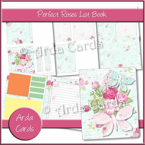 Perfect Roses List Book