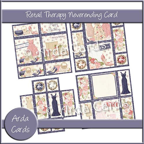 Retail Therapy Neverending Card