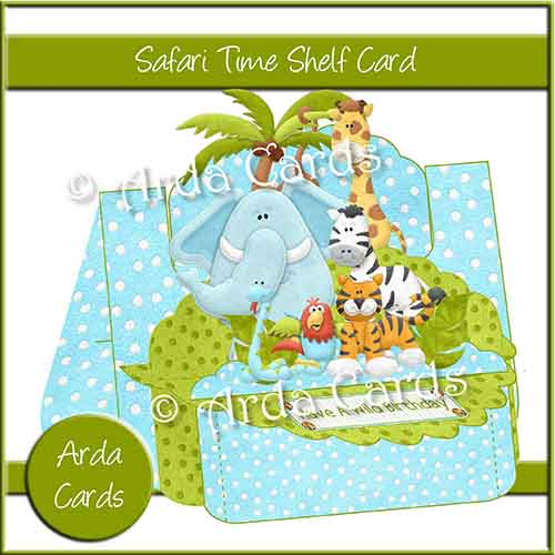 Safari Time Shelf Card