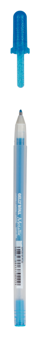 Metallic Blue Gelly Roll Pen - Sakura