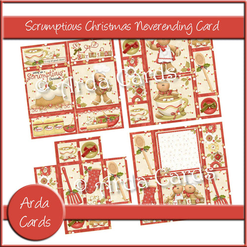 Scrumptious Christmas Neverending Card