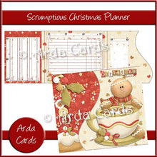 Load image into Gallery viewer, Scrumptious Printable Christmas Planner